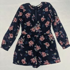 Abercrombie & Fitch Floral Romper, size 4
